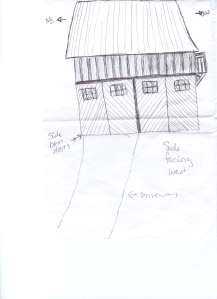 cabin concept drawing side view